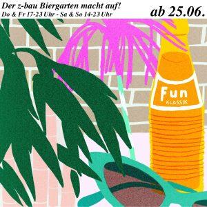 biergarten opening